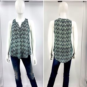 LUSH-Size XS-V-Neck Silk Like Tank Top